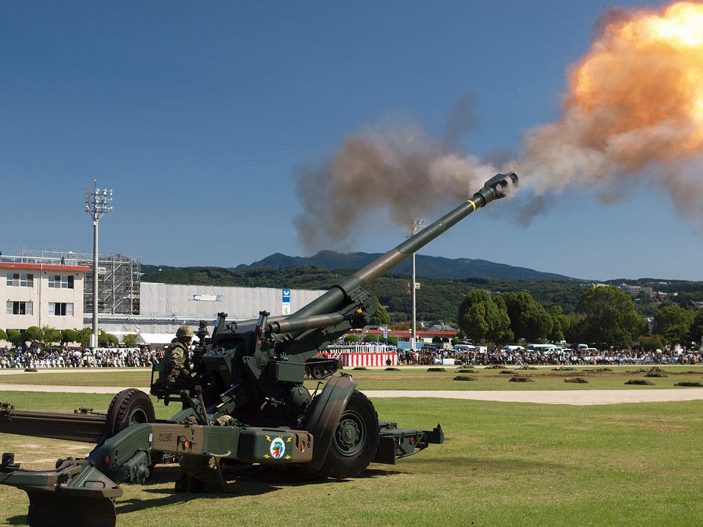 FH-70 155mm榴弾砲