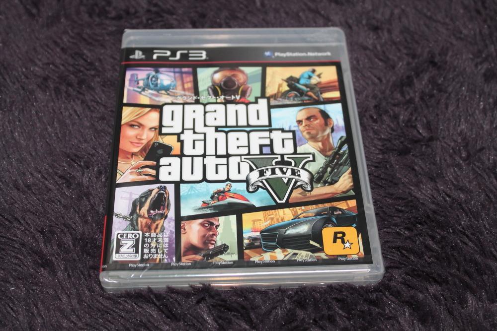 Grand Theft Auto Vを買った!!