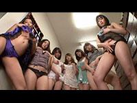 【色白巨乳痴女ばかり住む独身女子寮】エッチで美人なお姉さん達が毎日勃起したチ〇ポを奪い合い淫らに腰振る快適痴女セックスライフ!