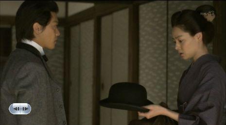 立派になって・・・この帽子、しばらく預からせてくんねえべが?