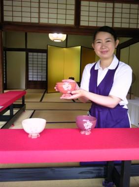 みなさん、会津にこらんしょ。御薬園にも是非きてくなんしょ 美雨の選んだ茶碗