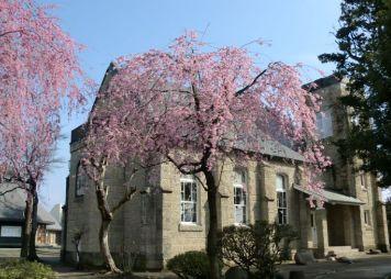 中島さんが育った安中・襄が初めて建てた安中教会